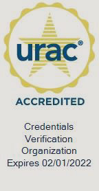 URAC Accredited - Credentials Verification Organization